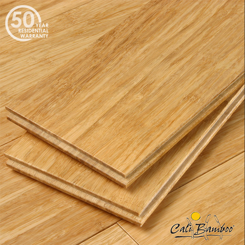Natural Fossilized® Wide T&G Solid Bamboo Flooring