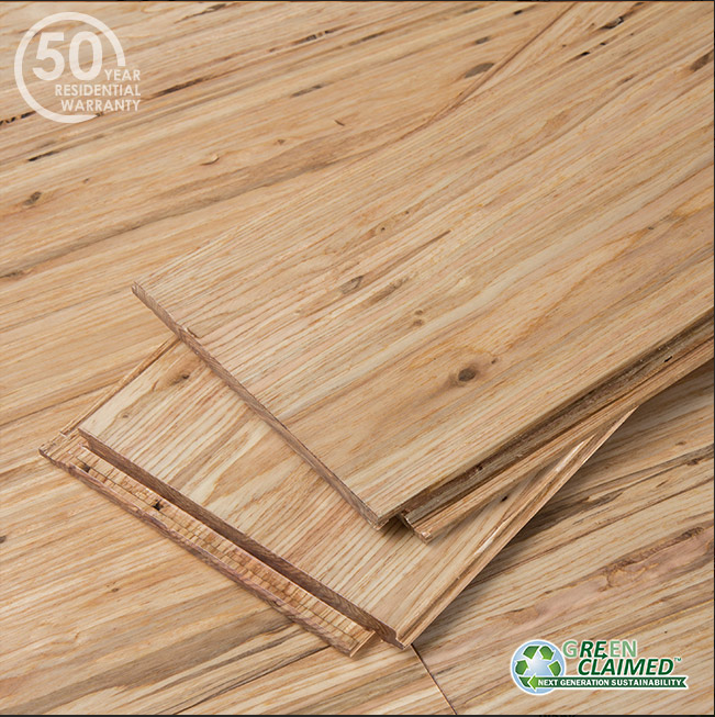 Natural Fossilized® Eucalyptus Wide Click Flooring