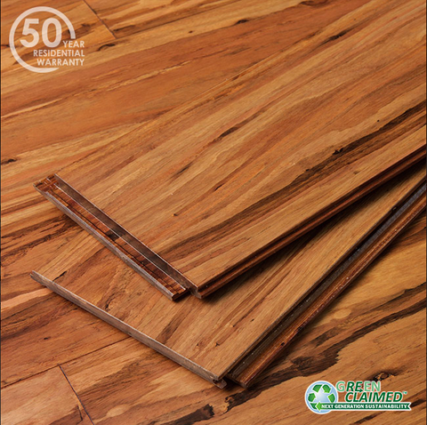 Mocha Fossilized® Eucalyptus Wide Click Flooring