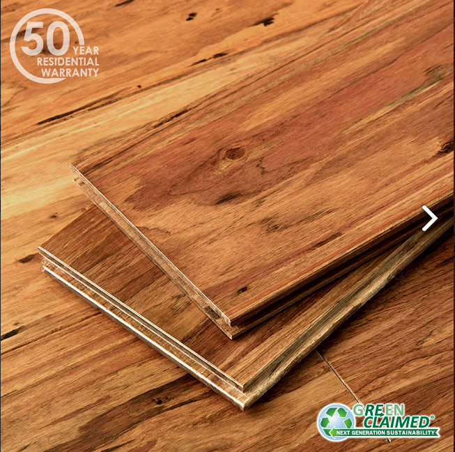 Mocha Fossilized® Eucalyptus Wide T&G Flooring