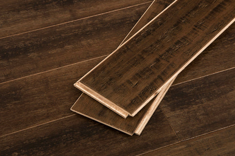 "Vintage Port Wide Click Bamboo 9/16""® Engineered Bamboo Flooring"
