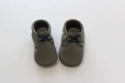 Oxford Moccasin in Grey
