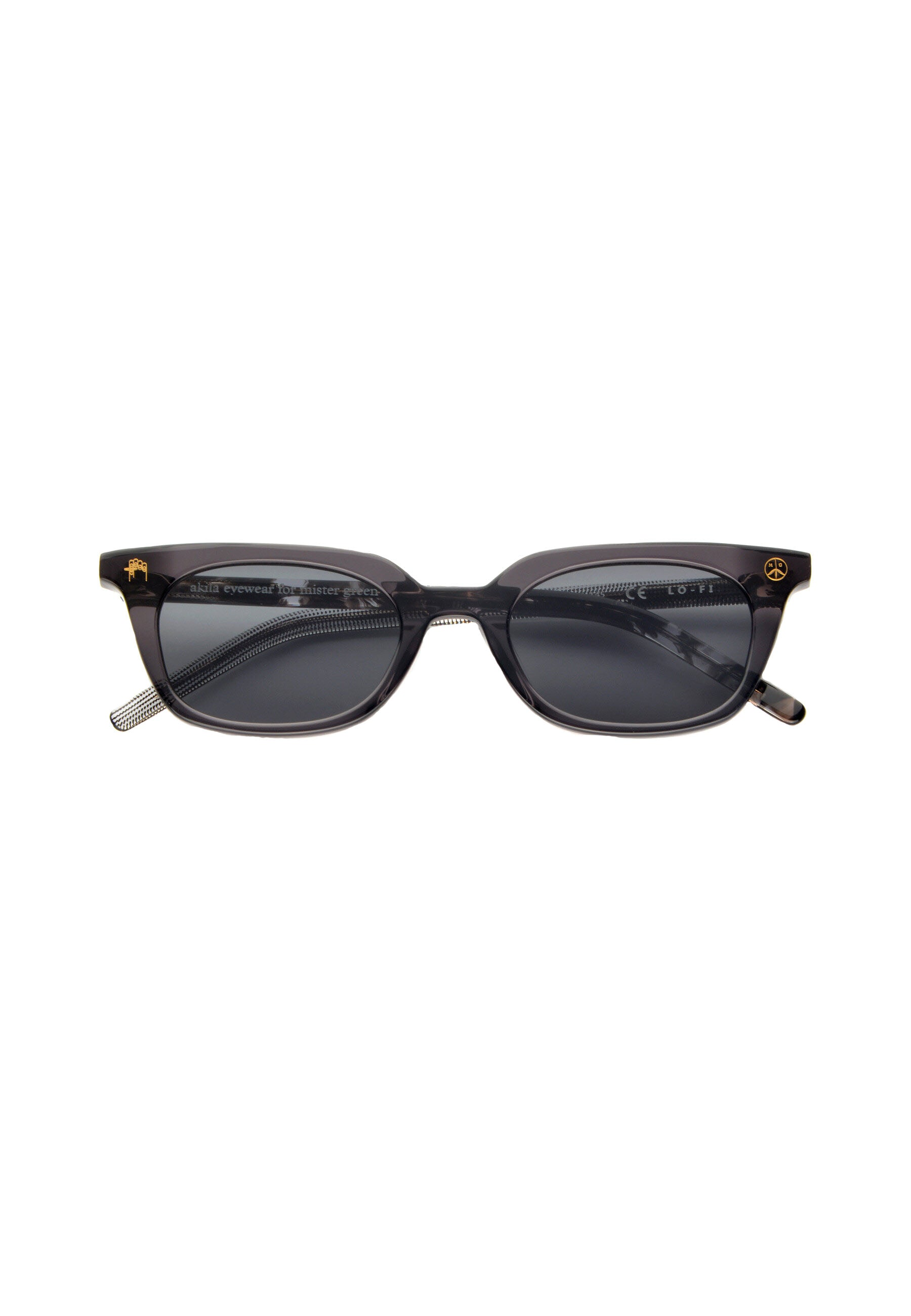 "Akila For Mister Green - Lo-Fi V1.2 - ""Heirloom"" Black Acetate / Black Lens"