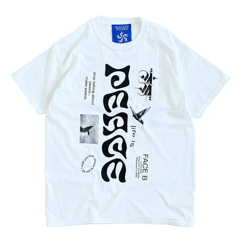 ALL CAPS STUDIO - Lumumba T-Shirt - White