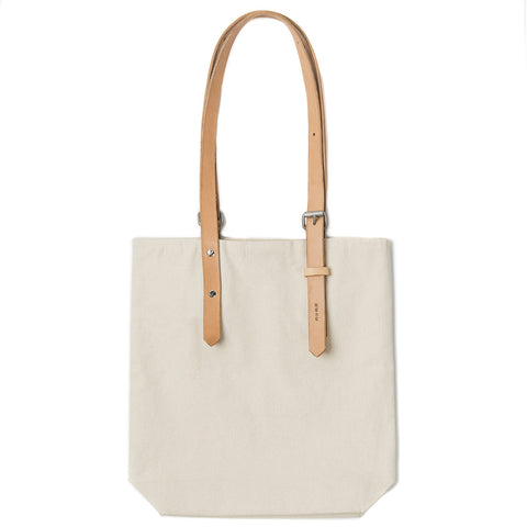 PR-009 - Heavy Canvas Tote Bag - Natural