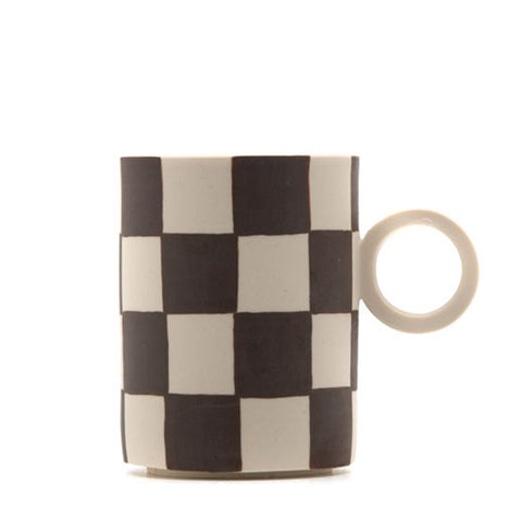 Mellow - Totem Mug - Brown Checker