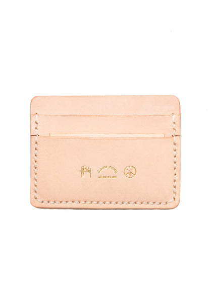 Alterior for Mister Green - Card Wallet - Natural