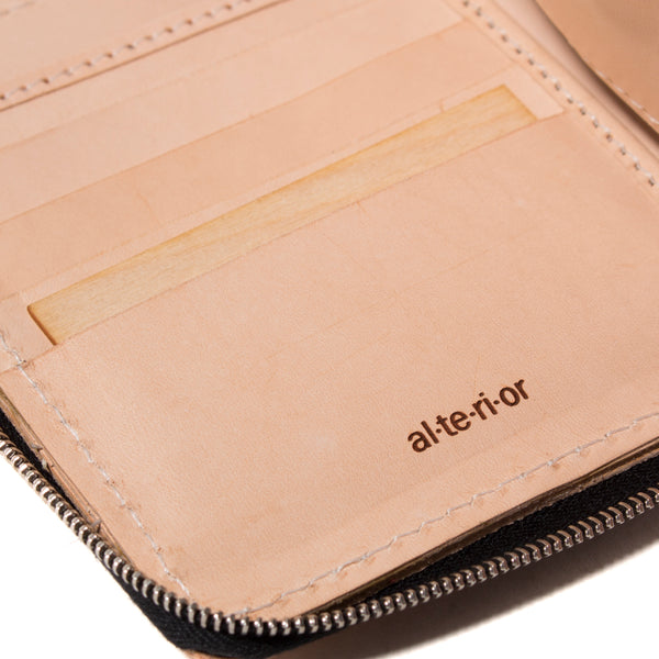 PR-023 - Full-Zip Wallet - Natural
