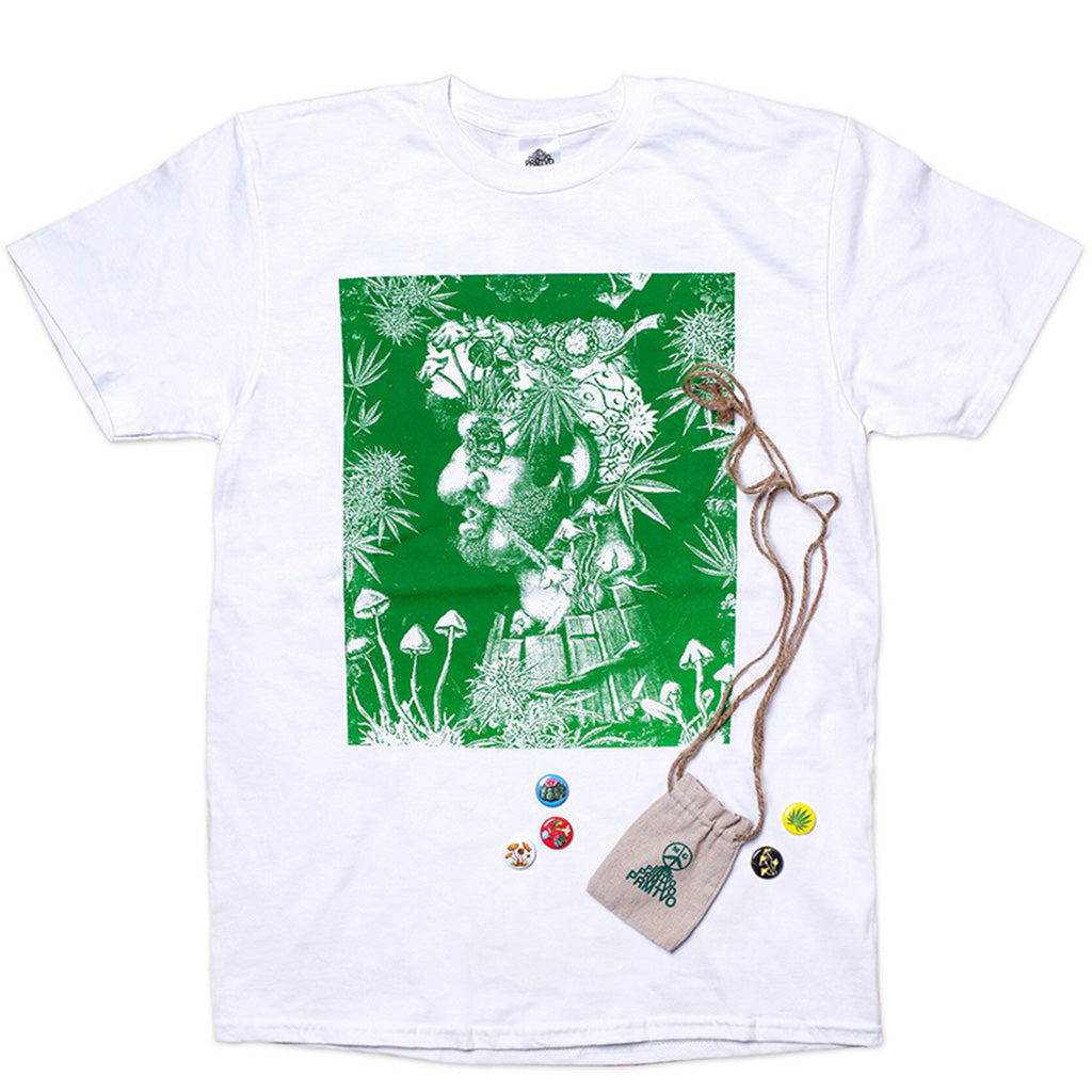 PRMTVO For Mister Green - Plant Based T-Shirt - White
