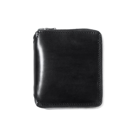 PR-023 - Full-Zip Wallet - Black