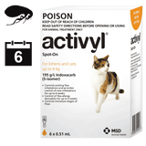 Activyl for Cats - 6 pack (6 month auto delivery)