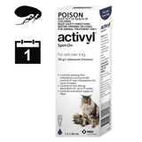 Activyl for Cats - Single pack (1 month auto delivery)