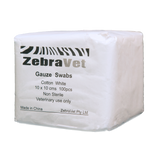 Gauze Swabs 8ply (10 x 10 pack of 100)