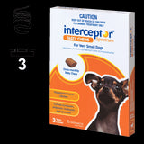 Interceptor Tasty Chews - 3 pack (3 month auto delivery)