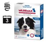Milbemax for Dogs over 25kg - 2 pack (3 month auto delivery)