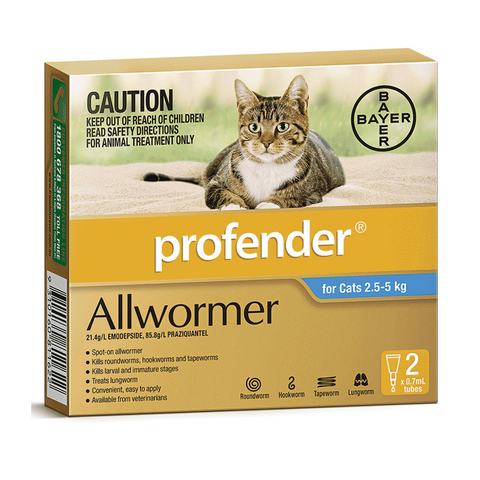 Profender for Cats - 2 pack
