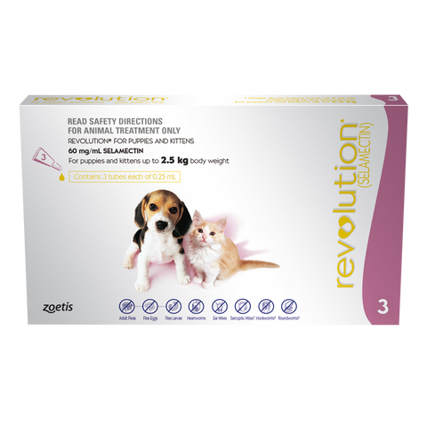 Revolution Puppy and Kitten (3 pack)