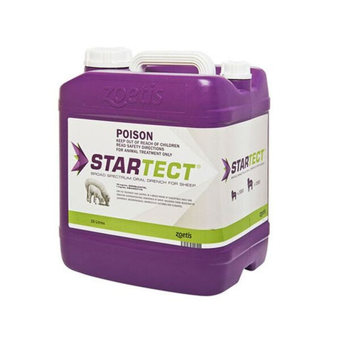 Startect Broad Spectrum Oral Drench for Sheep 15L