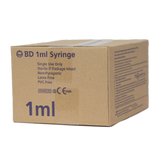 Syringes 1ml 100s Bd