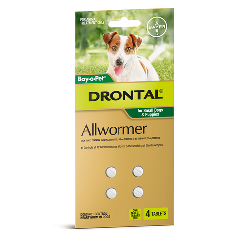 Drontal Allwormer Dog Tablets