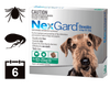 NexGard Chewables for Dogs - 6 pack (6 month auto delivery) + BONUS MONTH
