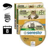Cat flea & worm package 5 (8 month auto delivery)