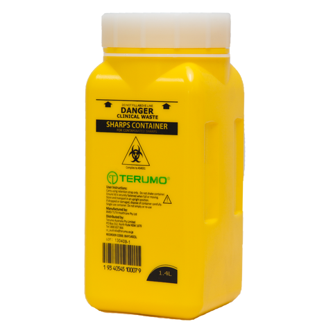 Sharps Disposal Container (1.4L)