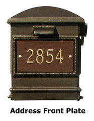 Address Front Plate