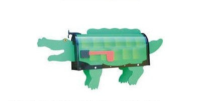 Crocodile Mailbox Post Mount By More Than A Mailbox 1004