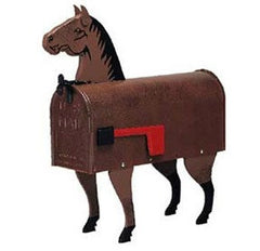 Horse Mailbox Post Mount
