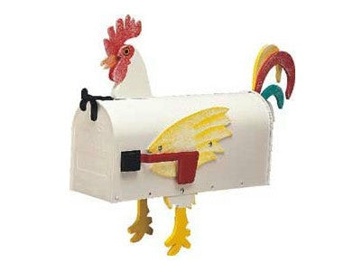 Rooster Mailbox by More Than A Mailbox 1018