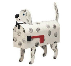 Dog Mailbox Dalmation Post Mount