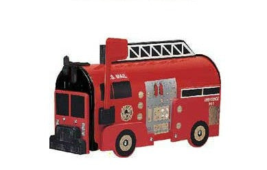 Fire Engine Mailbox Post Mount By More Than A Mailbox 1025R