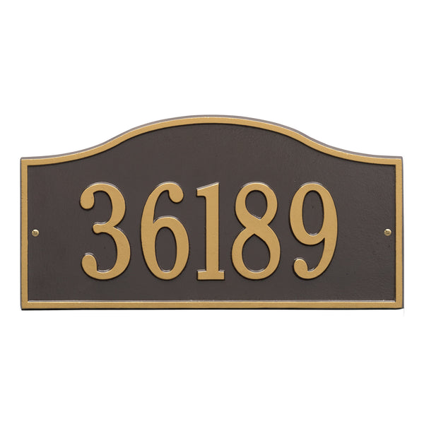 Light Industrial Units Hampshire: Whitehall Rolling Hills Grand Wall Address Plaque (One