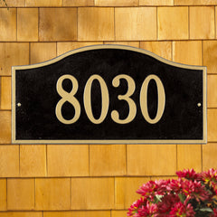Whitehall Rolling Hills Grand Wall Address Plaque (One Line)