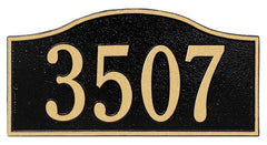 Whitehall Rolling Hills Standard Wall Address Plaque (One Line)