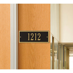 Whitehall Hartford Mini Wall Mount Address Plaque (One Line)
