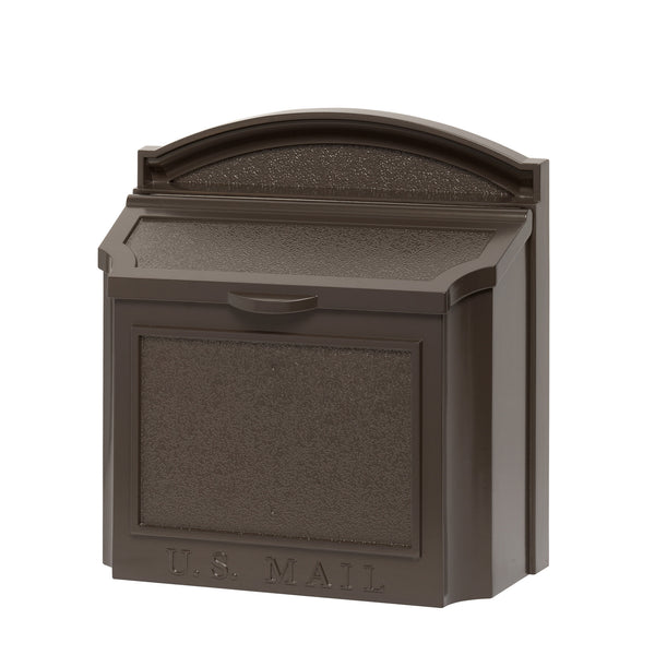 Whitehall Wall Mount Locking Mailbox Bronze 16138