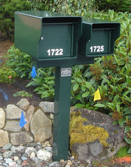 Fort Knox - 2 T Style Post Upgrade For Dual Fort Knox Mailbox Installations
