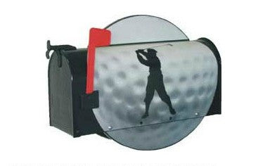 Golf Ball Mailbox Post Mount By More Than A Mailbox 7004