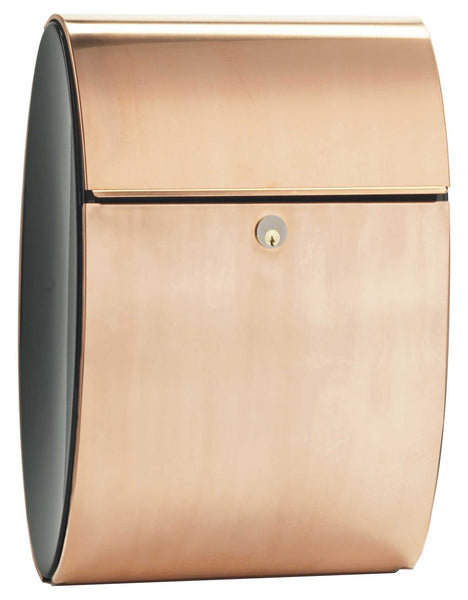 Allux Ellicpse Mailbox Copper