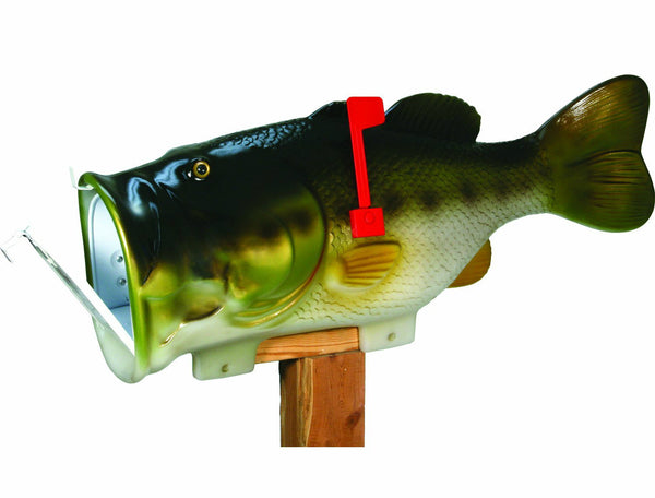 Rivers Edge Bass Mailbox