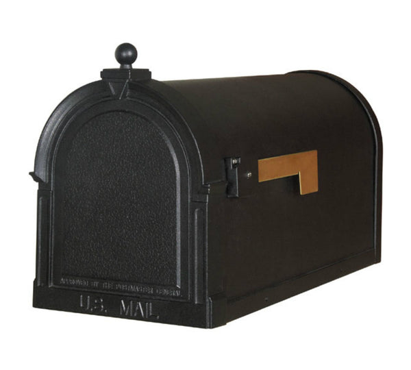 Special Lite Berkshire Curbside Mailbox Black SCB-1015-BLK
