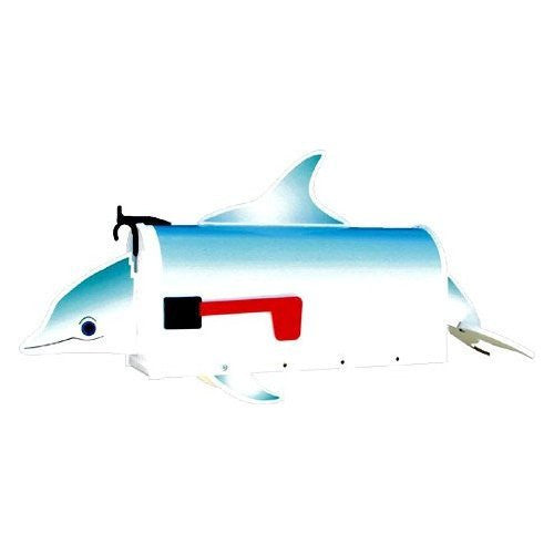 Dolphin post mount mailbox more than a mailbox 1014