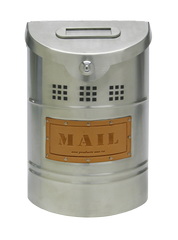Ecco Stainless Steel Mailbox E1 Small