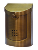 Ecco E5 Satin Brass Mailbox E5BS Small