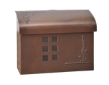 Ecco E7 arts and crafts mailbox wall mounted