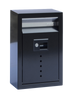 Ecco E9 Small Locking Mailbox Black E9BK