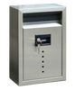 Ecco E9 Satin Stainless Steel Locking Mailbox Small