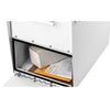 Architectural Oasis Jr Mailbox White Receiving Door Storage